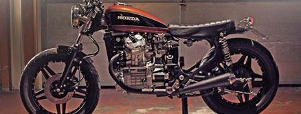 1980 Honda CX500 Custom<